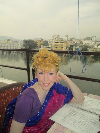 Jheel Guest House:                   rooftop restaurant