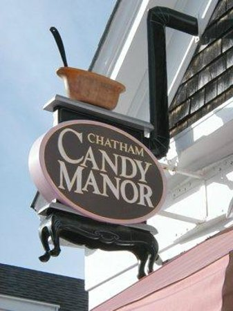Chatham Candy Manor: Come see the actual stove from our logo in the store!