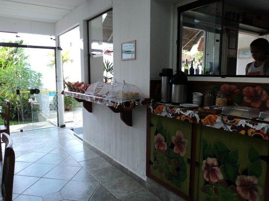 Pousada Papaya : Salão do café