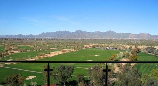 Talking Stick Resort: view from the room