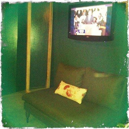 Palihotel:                   Guestroom TV & Seating