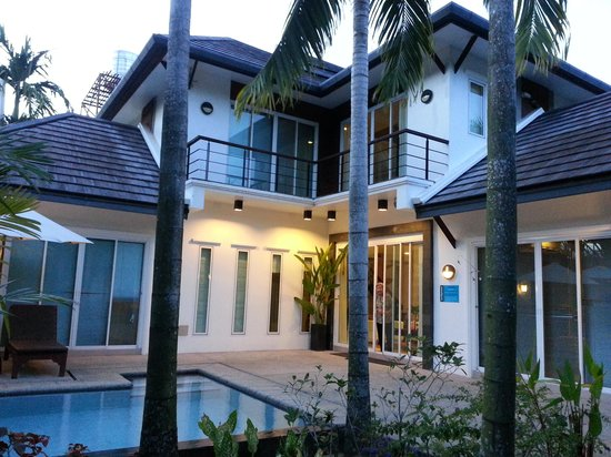 Bangtao Beach Chalet:                   lovely view of the villa