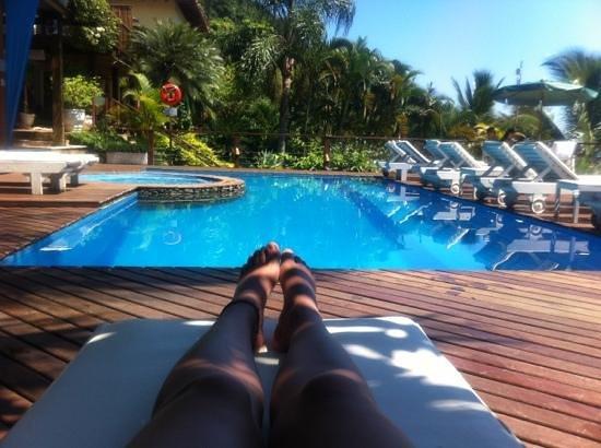 Barra do Piuva Porto Hotel: piscina com vista paradisíaca