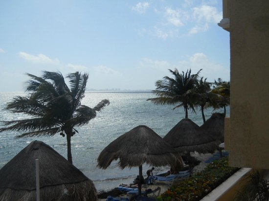All Ritmo Cancun Resort & Waterpark:                   View from our Junior Suite
