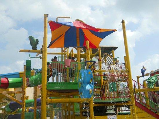 All Ritmo Cancun Resort & Waterpark:                   The Water Park!