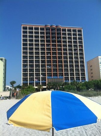 Monterey Bay Suites:                   beach front resort!