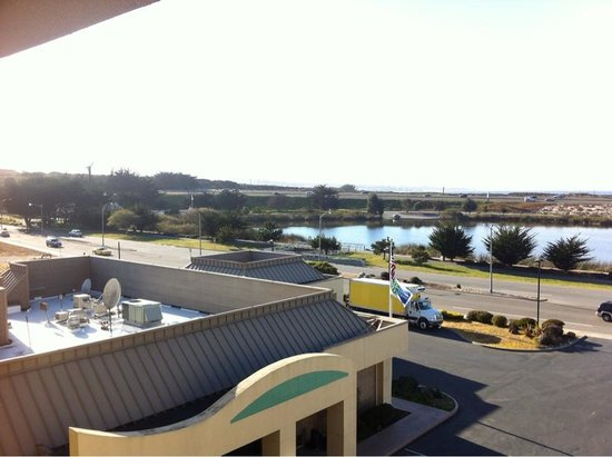 Holiday Inn Express @ Monterey Bay:                   The bay