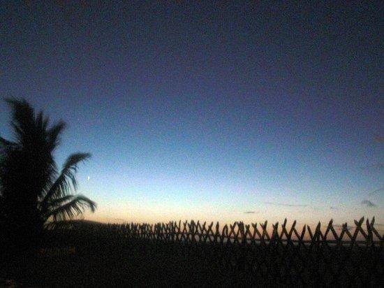 Vila Preá Cabanas & Restaurante:                                     Sunset at Prea