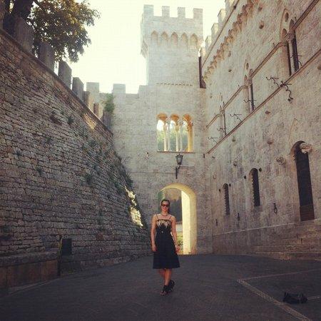 Castello delle Serre:                   First day