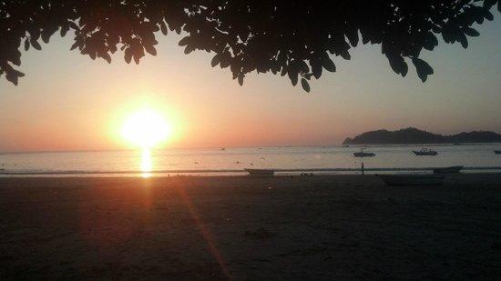 The Hideaway Hotel Playa Samara:                   Sunsets on Samara