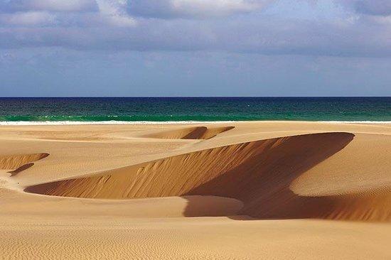 Boa Vista, Cabo Verde:                                     dunes