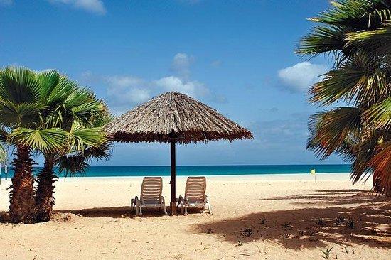 Boa Vista, Cabo Verde:                                     beach