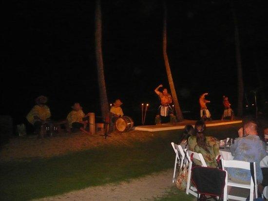 Sheraton Kauai Resort: Luau show