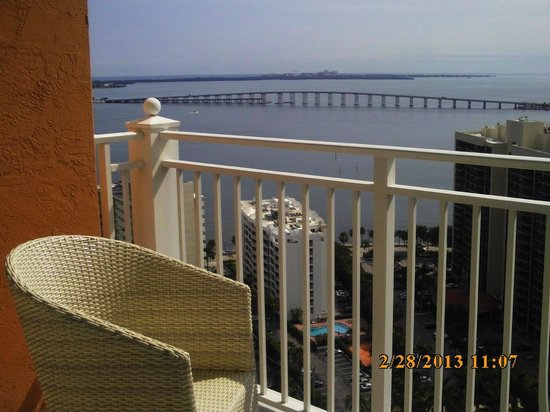 Fortune House Luxury Apartment Suites:                   Balcony off living room
