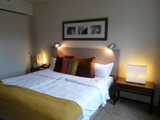 Villa Kennedy:                   habitacion super comoda y moderna