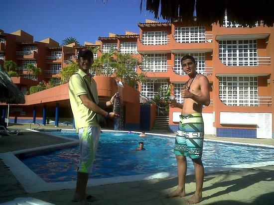 Hippocampus Vacation Club:                                     villas del hotel hippocampus, exelente piscina