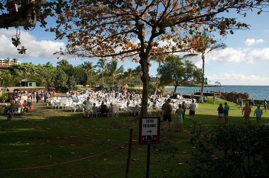 Te Au Moana Luau Area At The Wailea Beach Marriott Resort And Spa