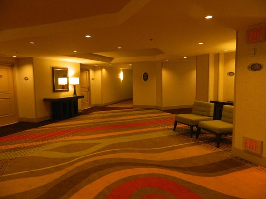 Treasure Island - TI Hotel & Casino:                   Elevators and Hallway -27th Floor