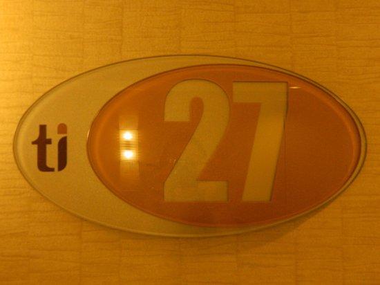 Treasure Island - TI Hotel & Casino:                   Room Number 27 at T.I.