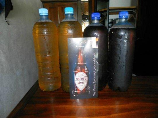 Matutu Brewery : Matutu Pale Ale and Larger