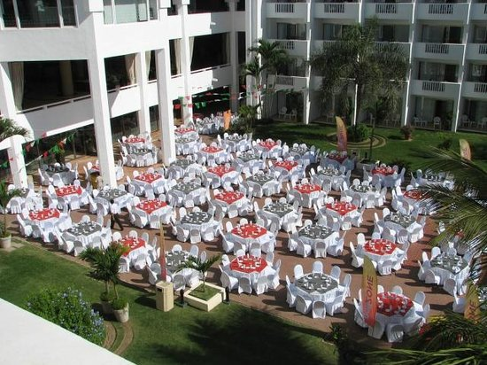 Marival Resort & Suites:                   The Mexican Fiesta every Tuesday, Very Good evening