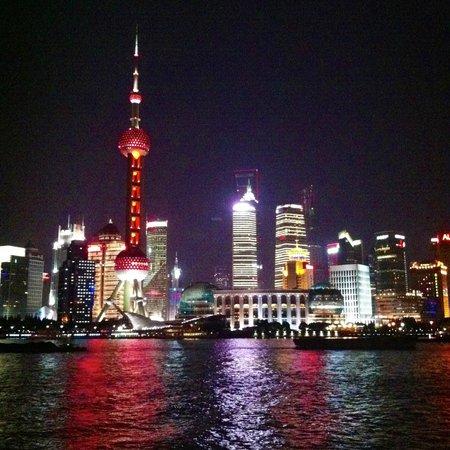 Park Hyatt Shanghai:                   Shanghai at night