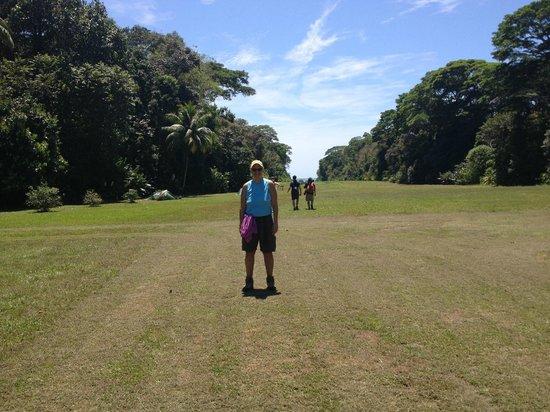 Lapa Rios Ecolodge Osa Peninsula:                   Airstrip at Corcovado National Park-Sirena