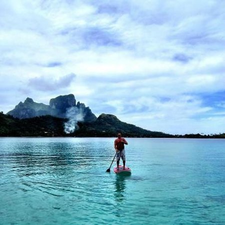 Sofitel Bora Bora Private Island:                   Free access to the boards.