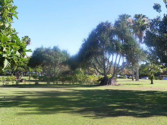 Fort DeRussy Beach Park:                   Fort DeRussey, nice to walk through on the way to Waikiki