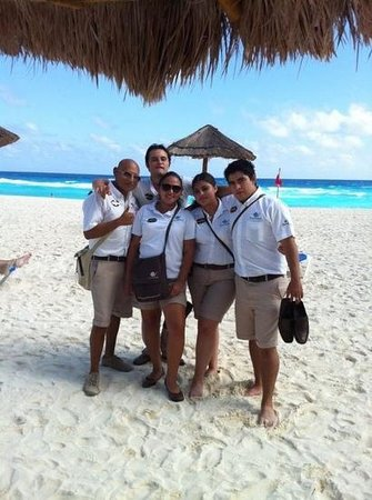 The Royal Caribbean:                   best concierges ever hahaha!!!