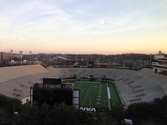 Nashville Marriott at Vanderbilt University:                   The view from my room. Absolutely beautiful!