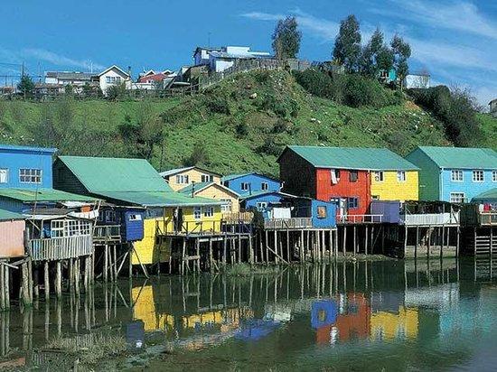 Isla Chiloe, Şili:                   .