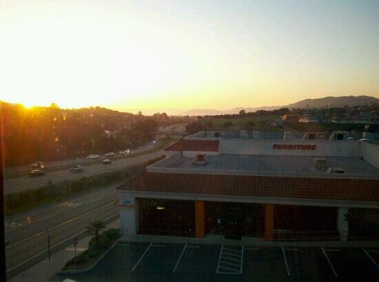 Hampton Inn & Suites Arroyo Grande/Pismo Beach Area:                                     View from a Jr Suite on the 2nd floor.   Very noisy from the