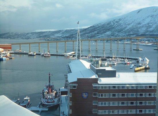 Radisson Blu Hotel, Tromso:                   view from room 1030