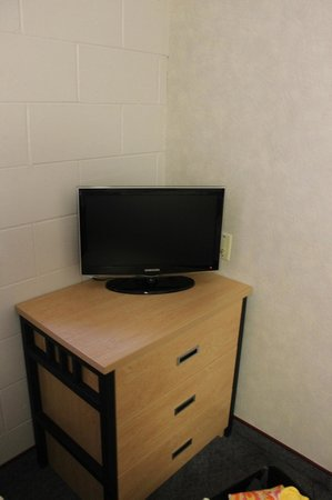 Residence & Conference Centre - Welland at Niagara College:                   Tiny tv