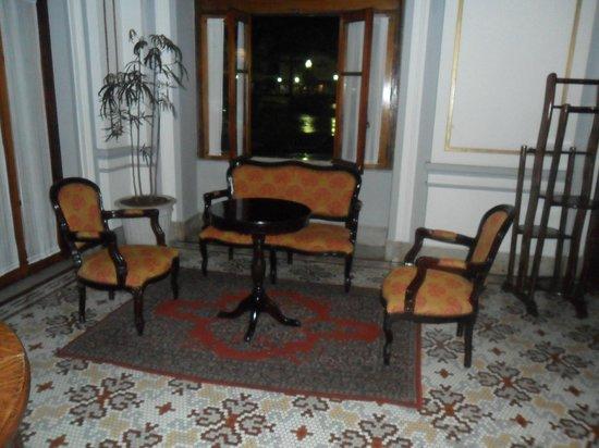 Palace Hotel : Saleta na recepção