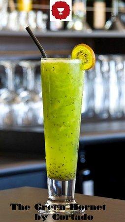 Café Cortado: The Green Hornet Cocktail
