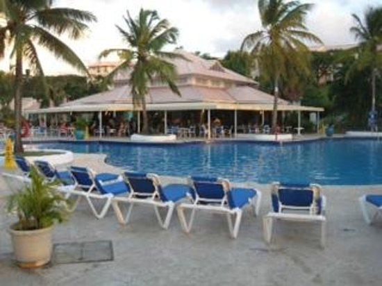 St. James's Club Morgan Bay:                                     Main Pool