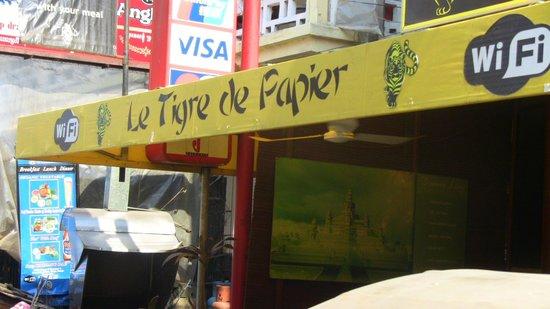 Le Tigre de Papier: sign