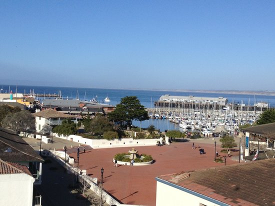 Portola Hotel & Spa at Monterey Bay :                                     View from one of the rooms