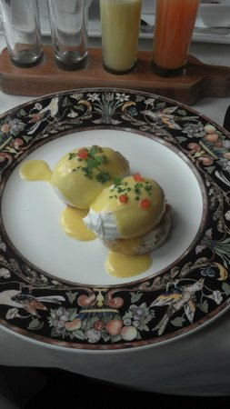 The Inn at Little Washington:                   Eggs Benedict