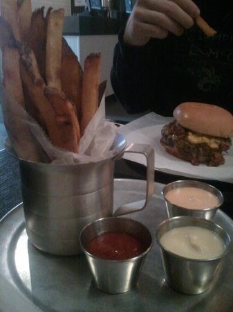 Chuck's:                   Fries with 'The Dirty South'