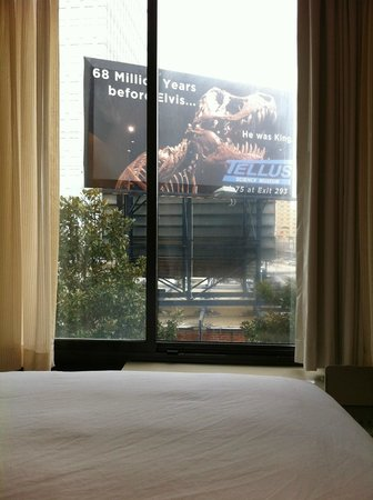 Hyatt Place Atlanta/Buckhead:                   Welcome to Jurassic Park!