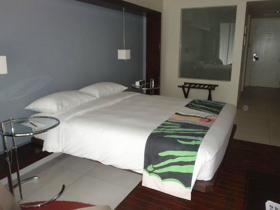 The Picasso Boutique Serviced Residences:                   our bed