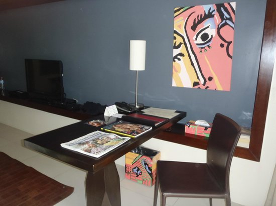The Picasso Boutique Serviced Residences:                   desk for all your writing