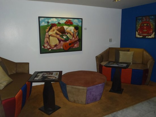 The Picasso Boutique Serviced Residences:                   waiting area