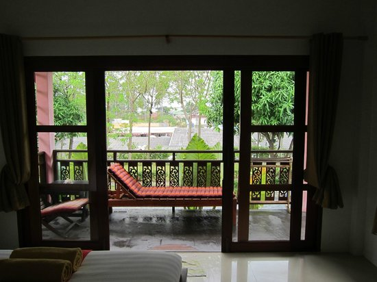 Pinky Bungalows :                                     View from room