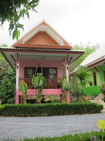 Pinky Bungalows:                                     The Bungalow