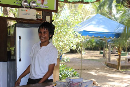 Busuanga Island Paradise:                                     Concepcion - Staff member at BIP