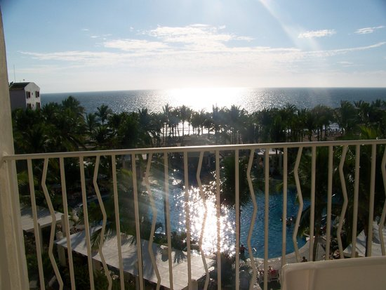 Hotel Riu Vallarta:                   The view from our room